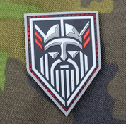 VIKING NORTHMAN, 3D RUBBER PATCH - MILITARY PATCHES