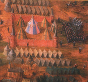 17TH CENTURY SOLDIER'S TENT - COTTON - MEDIEVAL TENTS