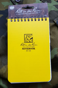 RITE IN THE RAIN - ALL-WEATHER NOTEBOOK - 4X6'' - 146 - YELLOW - ZÁPISNÍKY RITE IN THE RAIN