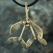 DRUID MISTLETOE, PENDANT, BRONZE - BRONZE HISTORICAL JEWELS
