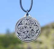 CELTIC NEVER ENDING SPIRAL - AMULET - INSPIRATION CELTIQUE