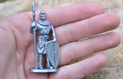 CASTLE GUARD. TIN FIGURE - PEWTER FIGURES
