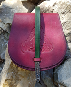 GOTLAND, VIKING LEATHER BAG - BAGS, SPORRANS