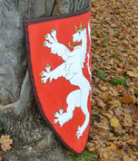 BOHEMIAN LION, COAT OF ARMS, SHIELD - PAINTED SHIELDS