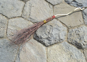 RITUAL BESOM, BROOMSTICK - MAGIC ACCESSORIES