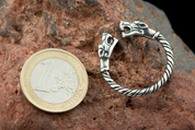 TWO WOLVES - SILVER RING - SPECIAL OFFER, DISCOUNTS