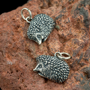 HEDGEHOG, SILVER PENDANT - MYSTICA SILVER COLLECTION - PENDANTS