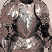 RENAISSANCE SUIT OF ARMOUR, ETCHED ARMOUR, CUSTOM MADE - VOLLRÜSTUNGEN