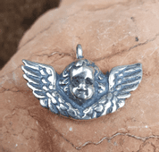 CUPID, SILVER PENDANT - MYSTICA SILVER COLLECTION - PENDANTS