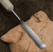 WOOD CHISEL, HAND FORGED, TYPE XVIII - FORGED CARVING CHISELS