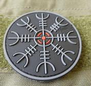 HELM OF AWE, 3D VELCRO PATCH - MILITARY PATCHES