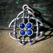 INNIS, CELTIC PENDANT, SILVER - MYSTICA SILVER COLLECTION - PENDANTS