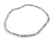 STAINLESS STEEL FLAT CHAIN 0.9X55 CM - CORDS, BOXES, CHAINS