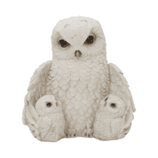 FEATHERED FAMILY, OWLS, DECORATION - ANIMAL FIGURES