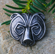 URSUS, BEAR PENDANT, TIN - ANIMAL PENDANTS