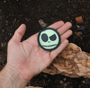 SKULL RUBBER VELCRO PATCH - PATCHES UND MARKIERUNG