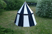 MEDIEVAL UMBRELLA TENT - COTTON - 4M - MEDIEVAL TENTS