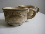 MOKKA COFFEE MUG, CERAMIC - TRADITIONAL CZECH CERAMICS