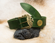 ERIN, CELTIC LEATHER BELT - BELTS