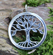 TREE OF LIFE PENDANT, STERLING SILVER - MYSTICA SILVER COLLECTION - PENDANTS