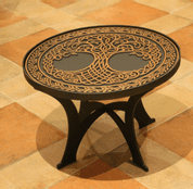 CONFERENCE TABLE - TREE OF LIFE - FORGED IRON HOME ACCESSORIES