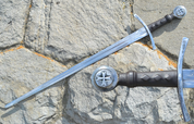 RENOLD, SINGLE HANDED SWORD FOR COMBAT - MEDIEVAL SWORDS