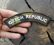 CZECH REPUBLIC CAMO VZ 95 VELCRO PATCH - MILITARY PATCHES