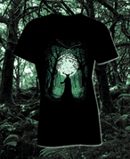 HERNE, THE GUARDIAN OF THE FOREST, LADIES' T-SHIRT - PAGAN T-SHIRTS NAAV FASHION