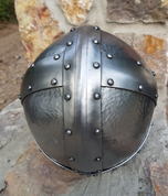 STEFNIR, VIKING OCULAR HELMET WITH CHEEK GUARDS - VIKING AND NORMAN HELMETS