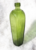 GLASS CARAFE FOR OIL - HISTORICAL GLASS