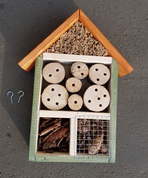 INSECT HOTEL - WOODEN STATUES, PLAQUES, BOXES