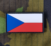 PATCH, FLAG, CZECH REPUBLIC - MILITARY PATCHES