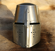 ROBERT, GREAT HELM - MEDIEVAL HELMETS
