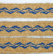 SVERIGE - HEDDLE BELT - TABLET WOVEN BELT, 1 METER - DECORATIVE TEXTILE BELTS
