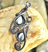 HEMATITE - EARRINGS - FANTASY JEWELS