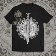CLAÍOMH SOLAIS - SWORD OF LIGHT, MEN'S T-SHIRT - PAGAN T-SHIRTS NAAV FASHION