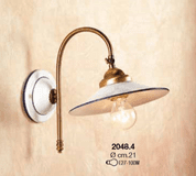 VICENZA CERAMIC WALL LAMP 2048-4 - WALL LAMPS