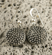MILA, EARLY MEDIEVAL SILVER EARRINGS - EARRINGS - HISTORICAL JEWELRY
