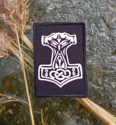 THOR'S HAMMER, VELCRO PATCH - MILITARY PATCHES