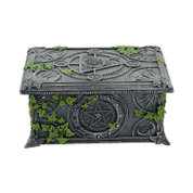WICCAN PENTAGRAM TAROT BOX - BOXES, PENCIL CASES