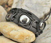 HEMATITE BRACELET - THREE STONES - FANTASY JEWELS