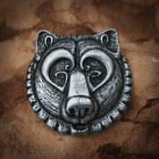 URSUS, BEAR PENDANT ALLOY - ANIMAL PENDANTS