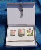 ORIENTAL LILY VOTIVE CANDLES AND REED DIFFUSER - GIFT BOX - REED DIFFUSERS
