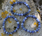 SODALITE, BLUE, BRACELET - PRODUCTS FROM STONES