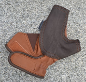 ARCHERY GLOVE, FINE LEATHER - EQUIPMENT FOR ARCHERY