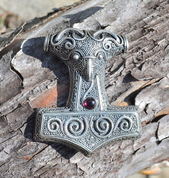 BIG THOR HAMMER FROM SKANE - SWEDEN, AG 925 - PENDANTS - HISTORICAL JEWELRY