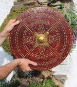 CULLODEN, TARGET - SCOTTISH SHIELD - PAINTED SHIELDS