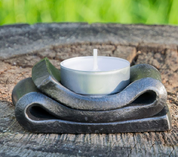 TEALIGHT CANDLE HOLDER, FORGED - FORGED PRODUCTS