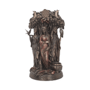 MAIDEN, MOTHER CRONE 27CM FIGURINE - FIGURES, LAMPS, CUPS