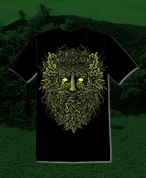 CELTIC GREENMAN, MEN'S T-SHIRT - PAGAN T-SHIRTS NAAV FASHION